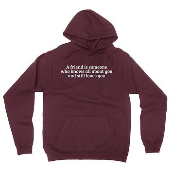 Bff best friend forever gift for friend besties for her for him  hoodie