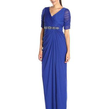 Adrianna Papell Long Mother of the Bride Dress Formal