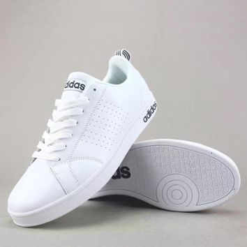 Adidas Neo Adya Ntage Clean Vs Women Men Fashion Casual Sneakers Sport Shoes-2