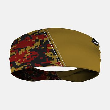 Arsenal Digi Camo Gold Maroon Headband