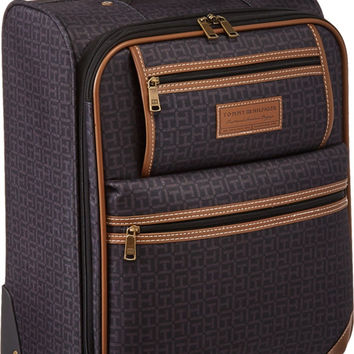 "Tommy Hilfiger Unisex Signature 2.0 21"" Uptright Suitcase Black '"