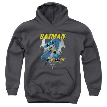 Batman - Urban Gothic Youth Pull Over Hoodie