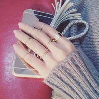 Set of 10: Stackable Rings