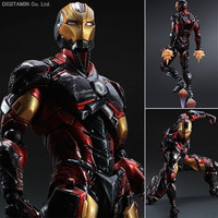 Iron Man Super Hero Age of Ultron Tony Stark Hulkbuster Action Figure