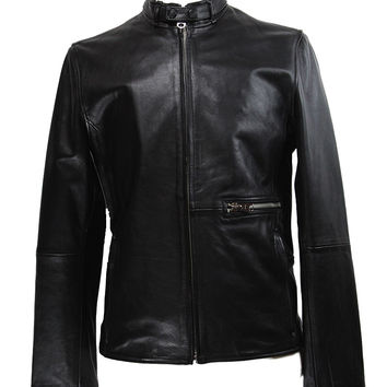G-STAR RAW Midnight Leather Jacket
