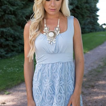 Summer Breeze Lace Dress
