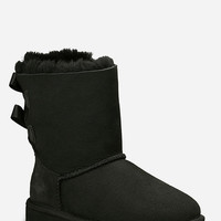Ugg Bailey Bow Girls Boots Black  In Sizes