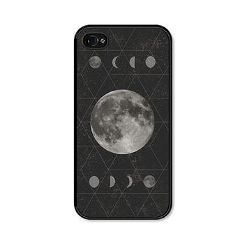 Moon Phase iPhone 5 Case - Moon iPhone 5c Case - Moon iPhone Case - Moon iPhone 5 Case - Moon Phase iPhone 5c Case Geometric Phone Case