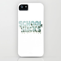 School Sucks Beach iPhone & iPod Case