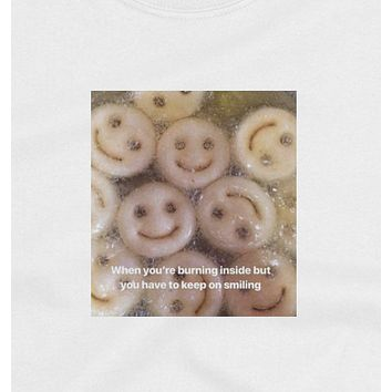 """Keep On Smiling"" Tee"