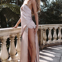 Buy Blush Silk Maxi Online by SABO SKIRT