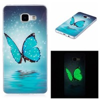 Samsung Galaxy J3 J5 J7 Case Ultra Thin Luminous Clear Soft Silicon TPU GEL Phone Cases For Samsung A3 A5 Cover Glow in Dark