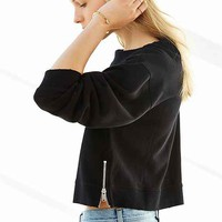 Cheap Monday Side-Zip Sweatshirt