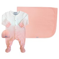 Coccoli Baby Girls' Faded Pink Layette