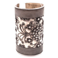 Hmong Filigree Wide Cuff