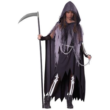 Miss Reaper Costume - Tween (Black)