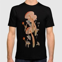 lost in mushrooms T-shirt by Bunny Noir