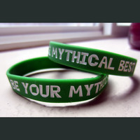 Be Your Mythical Best Wristband