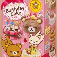 Rilakkuma Birthday Cake Re-Ment miniature blind box - Re-Ment Miniature