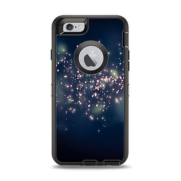 The Dark & Glowing Sparks Apple iPhone 6 Otterbox Defender Case Skin Set