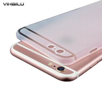 Scrub Hard Cases For iPhone 7 Phone Case iPhone 6 Plus PC Back Cover Protect Camera Ultra Thin Cover For iPhone 6s Case