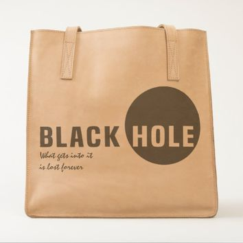 Black Hole UBUNTU collection Tote