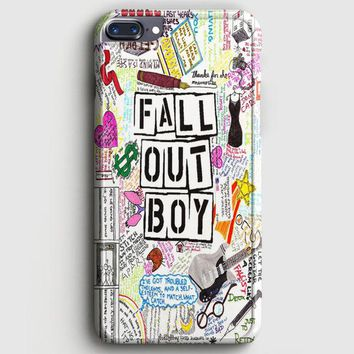 Fall Out Boy Lyric iPhone 8 Plus Case | casescraft