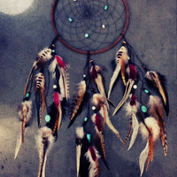 CUSTOM Large Dreamcatcher (you choose the colors)
