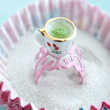 green tea ring