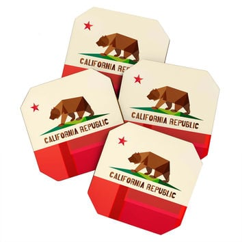 Fimbis California Coaster Set