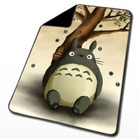 Totoro Under the Tree for Blanket, Throw Blanket, Fleece Blanket, Custom Blanket