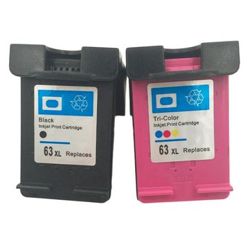 New High quality Ink Cartridge for HP 63 XL Officejet 2620
