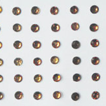 114 dots stick on fake nose studs/Gold fake nose labret eyebrow piercing Stud,Small Bindi,eye decoration,costume jewels,Fake nose stud small