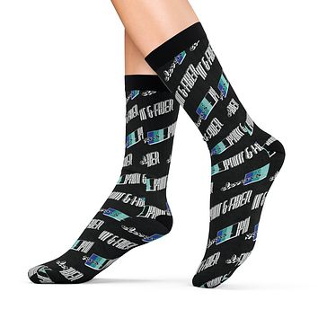 Elevens' Logo Socks - Black