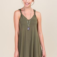 Georgina Knot Shift Dress