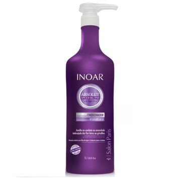 Inoar Absolut Speed Blond Conditioner 1000ml/ 33.81fl.oz