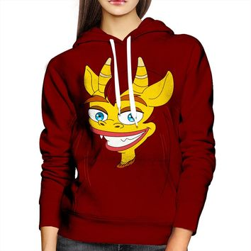 Big Mouth Connie Womens Hoodie
