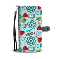 Science Research Wallet Phone Case