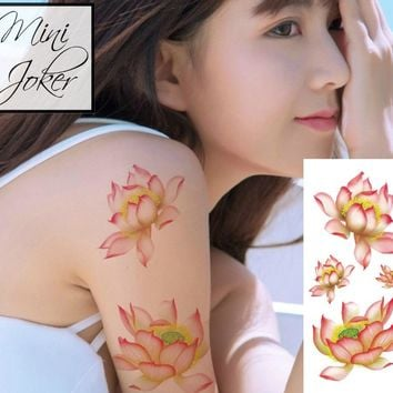Mini Joker | Awesome Tattoos Lotus Flower Tattoo