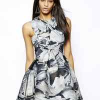 AQ AQ Broad Walk Mini Dress in Print