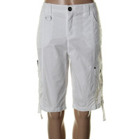 Style & Co. Womens Relaxed Tummy Control Bermuda Shorts