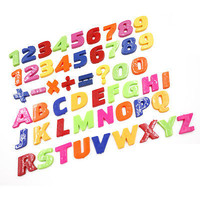 Teaching Magnetic Letters & Numbers Fridge Magnet Alphabet Education HU