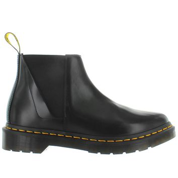 Dr. Martens Bianca - Black Leather Dual Gore Pull-On Boot