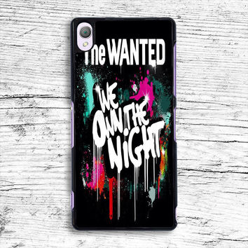 The Wanted We Own The Night Sony Xperia Case, iPhone 4s 5s 5c 6s Plus Cases, iPod Touch 4 5 6 case, samsung case, HTC case, LG case, Nexus case, iPad cases