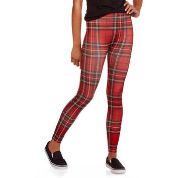 No Boundaries Juniors Seamless Ankle Legging - Walmart.com