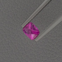 Tourmaline: 0.59ct Pink Cushion Shape Gemstone Mineral, Custom Lapidary, Dream in Color, Artistic Designer Jewelry, Cocktail Ring 20935