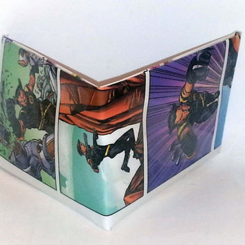 Halloween Half-Off Sale// Comic Book Wallet// Wolverine