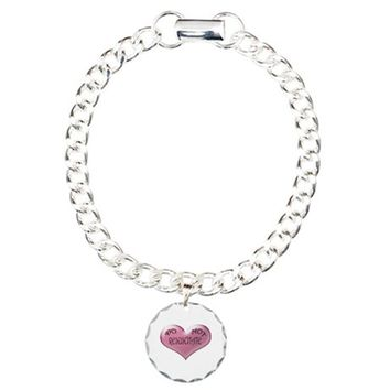 DO NOT RESUSCITATE PINK HEART BRACELET