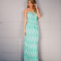Look On The Bright Glide Maxi Dress