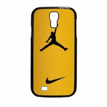 VONR3I Nike Air Jordan Golden Gold Samsung Galaxy S4 Case